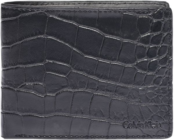 865dcba1c45bc Calvin Klein 7966796 Billfold Wallet for Men - Leather