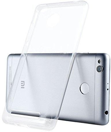 Xiaomi Transparent Soft Protective Case for Xiaomi Redmi 3 Pro and 3s