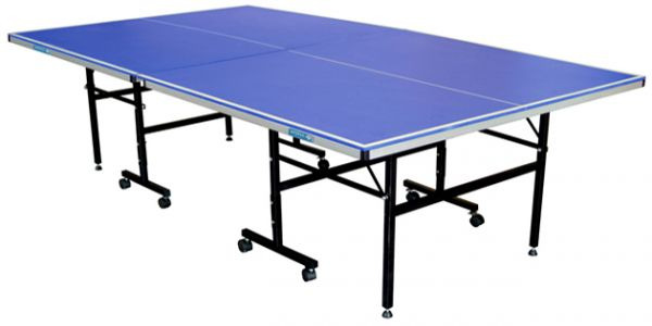 Lord Fitness KTT 6303 Table Tennis Table Ping Pong Table Foldable Indoor,  Blue
