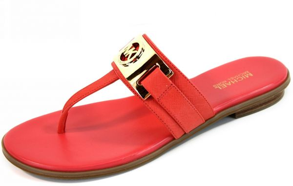 44221bc7b Michael Kors Red Thong Sandal For Women