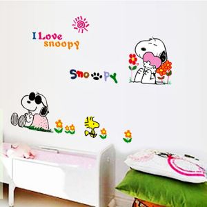 Cartoon Snoopy Wall Stickers kindergarten decorative painting Wall Stickers Wall Decals  sc 1 st  Souq.com & Souq | Cartoon Snoopy Wall Stickers kindergarten decorative painting ...
