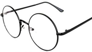bdb07c67ef67 Harry Potter Big Circular Frame With The Whole Metal Retro Flat Mirror -  Can Be Equipped With Myopia