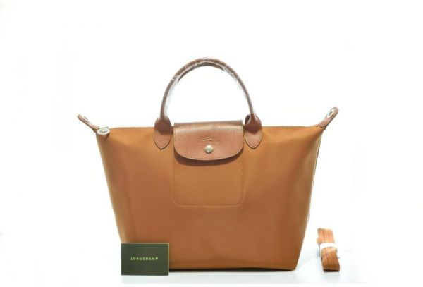 Longchamp Lepliage Neo Medium Caramel Brown