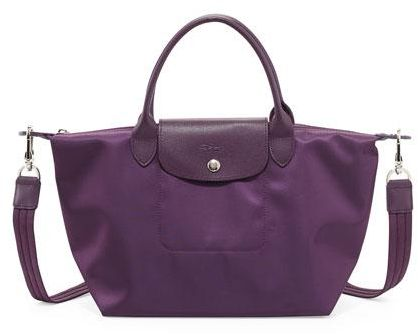 d5659c2cd0e6f Longchamp Neo Le Pliage Large Tote Bag (Bilberry)