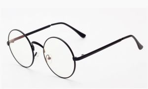 184f4a3d167 Round Circle Clear Lens Retro Eyeglasses Metal Frame for Women