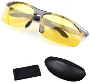 767d91dd11 Anti-glare Day Night Vision Goggles Driving Polarized Sunglasses for men
