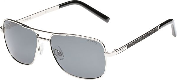 Polaroid Rectangle Gold Unisex Sunglasses - PLD 2029 S-010-58-Y2 ... a9804be644