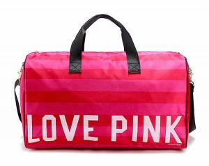 f2a5a763666 Love Pink Victoria Secret Tote Bag Small Travel Bag