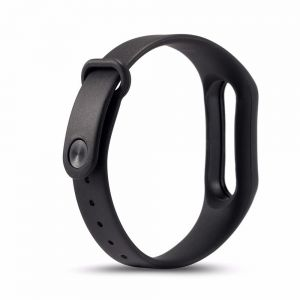Replaceable TPU Wrist Strap for Xiaomi Mi Band 2 Smart Bracelet - Black