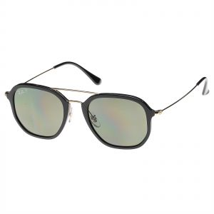 4dc9be11e1 Ray-Ban Square Highstreet Polarized Classic Green Unisex Sunglasses -  RB4273-601 9A