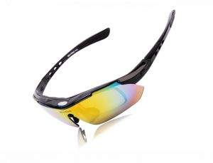 ef5ae7a22d UV400 Goggles Bicycle Cycling Glasses Sunglasses outdoor riding running  polarized lens glass-Black