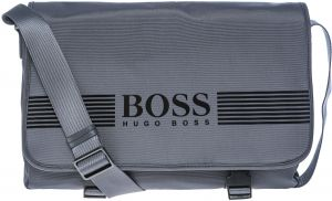 a13876f696 Hugo Boss 50311747-021 Pixel Flap Messenger Bag for Men