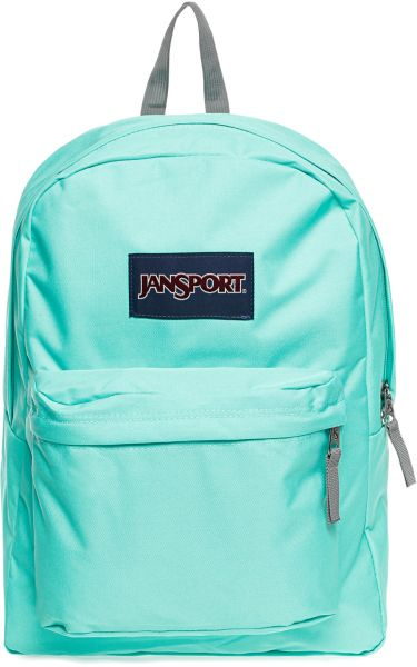 Jansport JS00T5010D6 Superbreak Backpack for Unisex, Seafoam Green ...