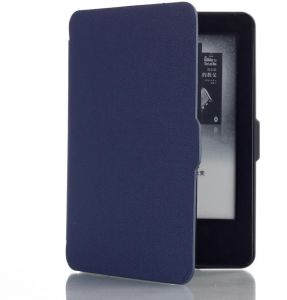 33d54b9e9 Dark Blue PU Leather Case Smart Cover For Amazon Kindle Paperwhite Auto  Sleep/Wake