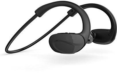 f36e439a6a0 Aukey EP-B13 Bluetooth Headphones, Wireless Sport Headset with Built-in  Microphone - Black | KSA | Souq