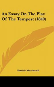 a review of the play the alternative tempest