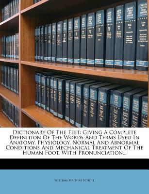 Souq | Dictionary of the Feet: Giving a Complete Definition of the ...