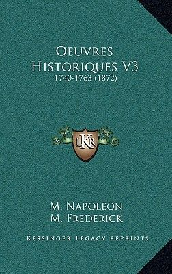 oeuvres historiques