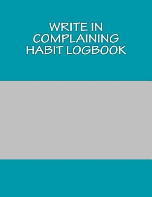 souq write in complaining habit logbook blank books you can write