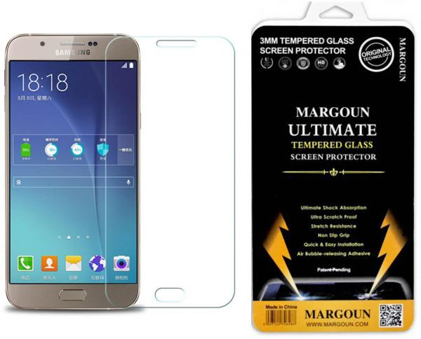 Tempered Glass Screen Protector For Samsung Galaxy A8 Duos