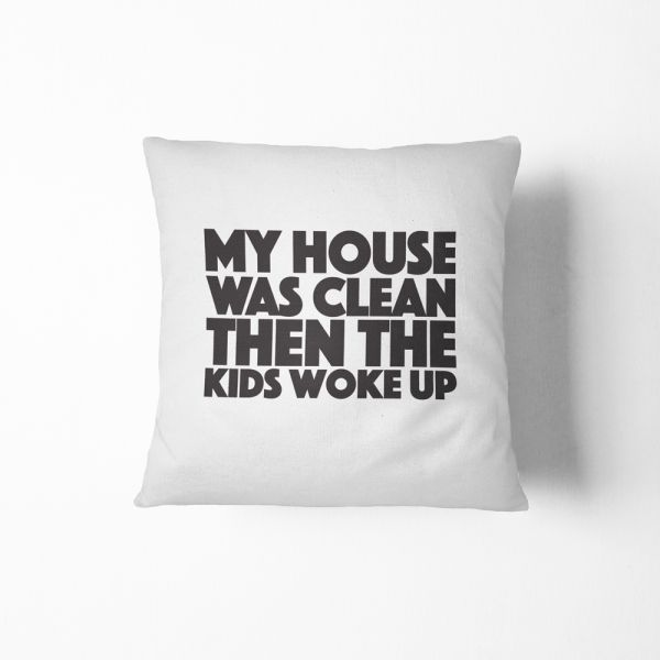 Souq HomeDesign Throw Pillow My House Was Clean UAE New How Do You Clean Decorative Pillows