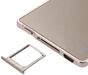 Qutiger 4mm Dual SIM Card Adapter for iPhone and iPad - Gold