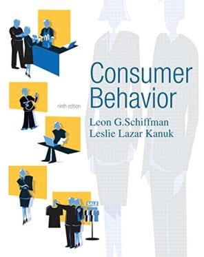 Consumer Behavior, 9E By Schiffman 9th Edition by Leon G.Schiffman