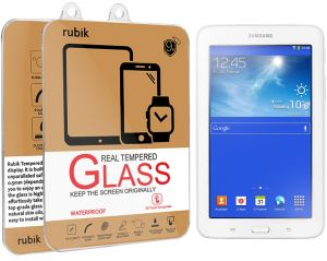 For Samsung Galaxy Tab 3 Lite 7.0 - Rubik Real Tempered Glass Saphire HD Screen Protector For Samsung Galaxy Tab 3 Lite 7.0