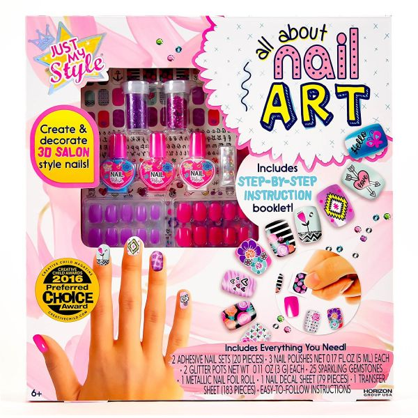 Just My Style All About Nail Art Kit, S2016 - 72559F price, review ...