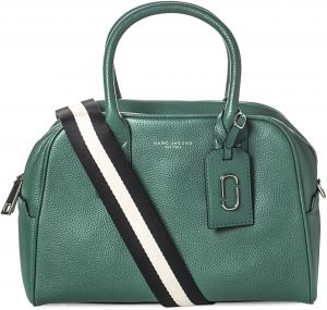 Marc Jacobs M0008279 304 Duffle Handbag For Women Leather Emerald Green