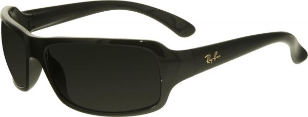 e352df8dc8 ... Polarized Highstreet RB4075-601 58-61 Black Rectangle Sunglasses for  Men. by Ray-Ban