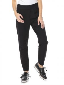 ONLY Black Slim Fit Trousers Pant For Women