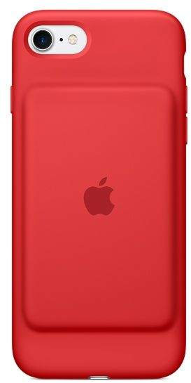 best loved 8199a a5458 Apple iPhone 7 Smart Battery Case - Red, MN022ZM/A