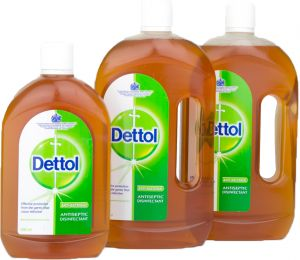 cd9b26a8e Dettol Antiseptic Disinfectant Liquid - Pack of 3 Pieces (2 x 750ml + 500ml)