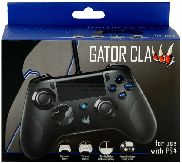 eec57ae6b Gator Claw Controller for PS4 - Black