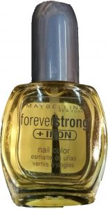 00beee2cd16 Maybelline Forever Strong + Iron Nail Color 10 Clear 14.7ml