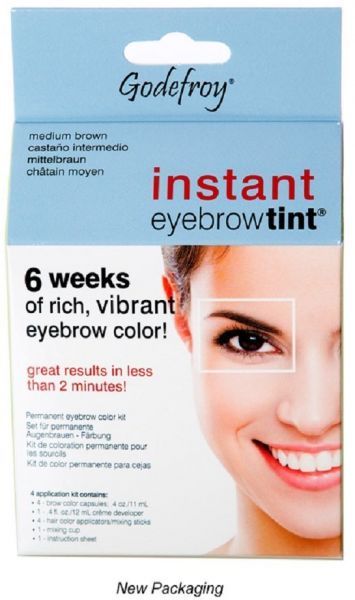 Souq | Godefroy Instant Eyebrow Tint Permanent Eyebrow Color Kit ...