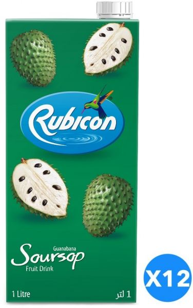 rubicon soursop guanabana juice drink pack of 12 pcs 12 x 1l rh uae souq com