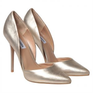 Steve Madden Varcityy Heels for Women - Gold