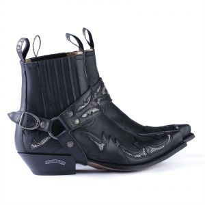 1cf7a1dbe79d Sendra Boots 6799P Negro Exotic Western ankle boot