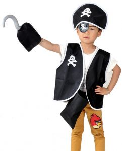 c2bfed1512a Costume Accessory Costume For Unisex-Pirates Costume with hat