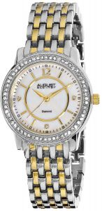 a73e9bfe7 August Steiner Women's White Metal Band Watch - AS8027TTG