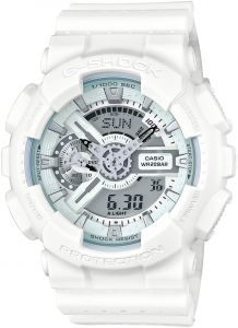 d603a5b97 Casio G-Shock Men's White Dial Silicone Band Watch - GA-110LP-7ADR