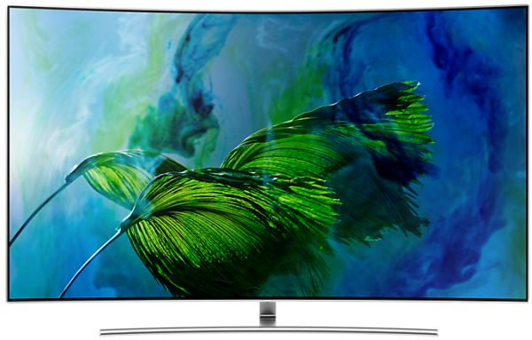 Samsung 65 Inch QLED Smart Curved TV - 65Q8CAM