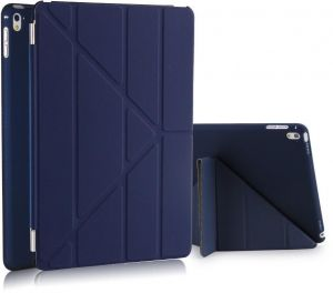 96cb1a0c7 Origami Ultra Slim Leather Magnetic Cover Case For Apple iPad Pro 9.7 Inch  Dark Blue