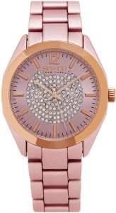 2524543d9 So & Co New York Soho Women's Pink Dial Stainless Steel Band Watch - 5096A.4