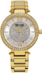 041a18aec SO&CO New York Madison Women's Silver Dial Stainless Steel Band Watch -  5234.2