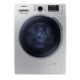Samsung 7 Kg Washer And 5 Dryer With Digital Inverter Motor Silver Wd70j5410as