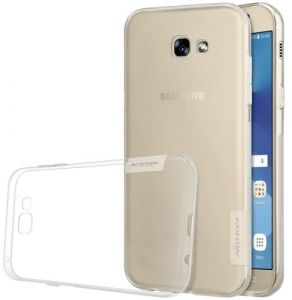 Samsung Galaxy A5 2017 Nillkin A520 , 0.6mm Ultrathin Clear Color Soft Protective Back Cover White