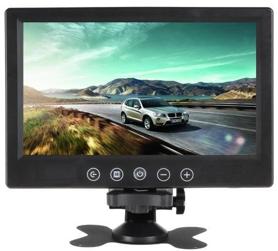 9 Inch TFT LCD Touch Screen Car Headrest Display Monitor Rear View For Rearview Reverse BackupCamera